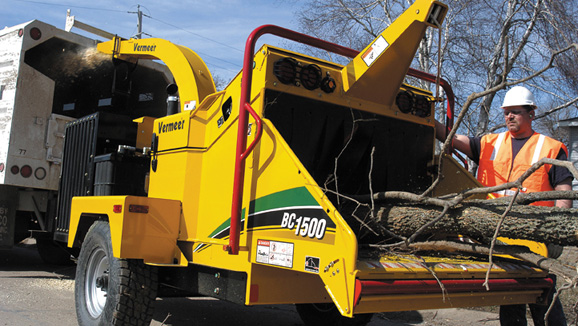 Vermeer Bc1500xl Wood Chipper For Hire Perth Wa